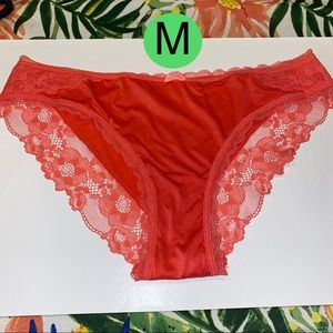 Victoria's Secret coral cheekini medium NEW